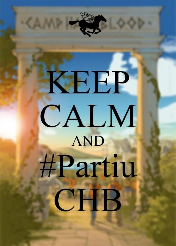 KEEP CALM AND #Partiu CHB