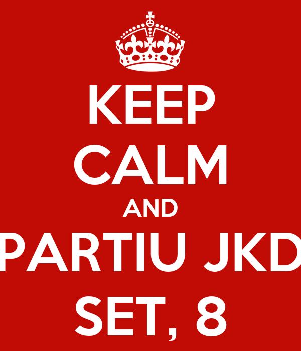 KEEP CALM AND PARTIU JKD SET, 8