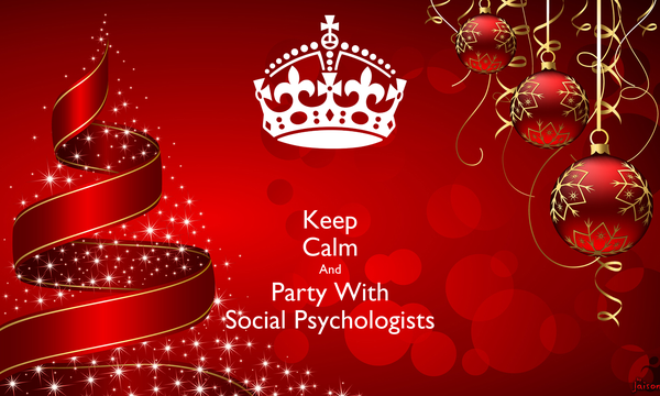Keep Calm And Party With Social Psychologists