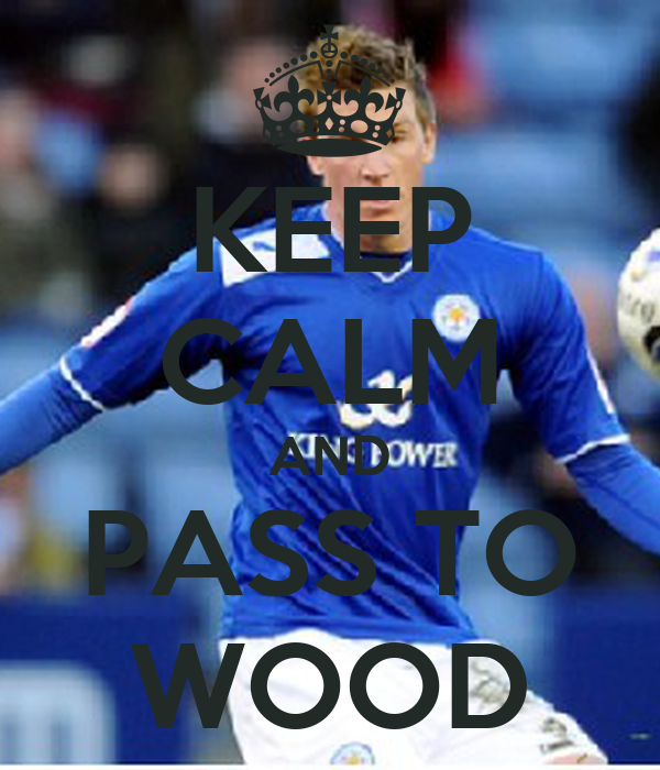 KEEP CALM AND PASS TO WOOD