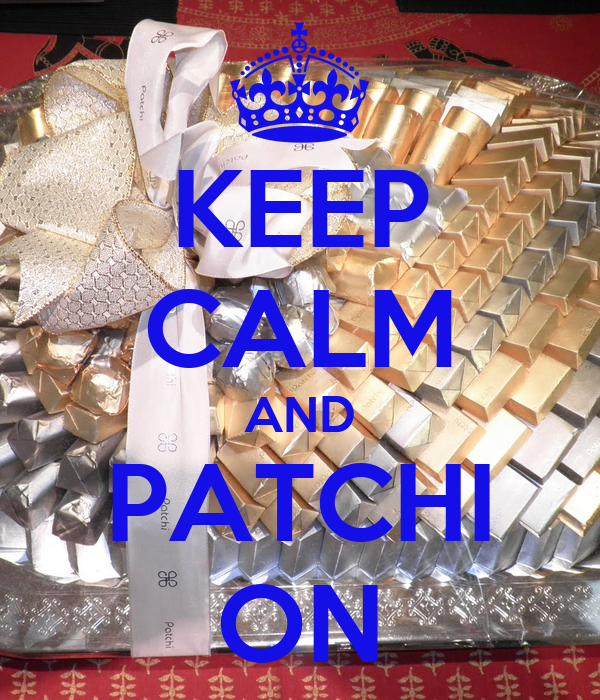 KEEP CALM AND PATCHI ON