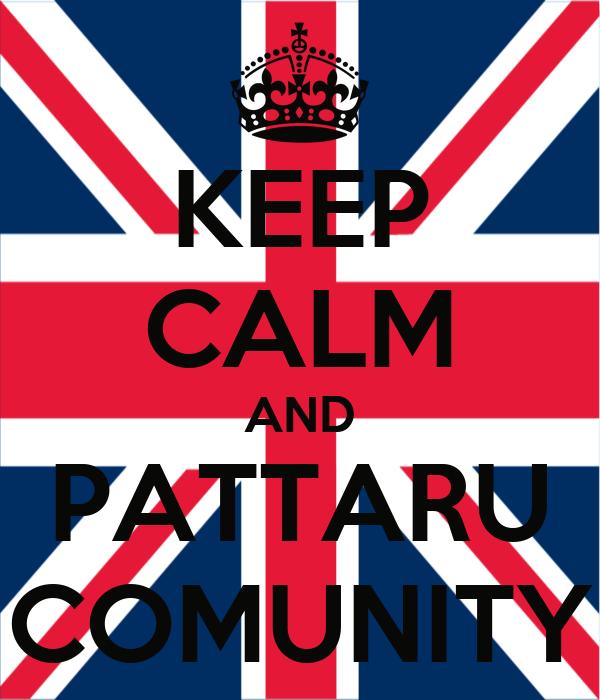 KEEP CALM AND PATTARU COMUNITY