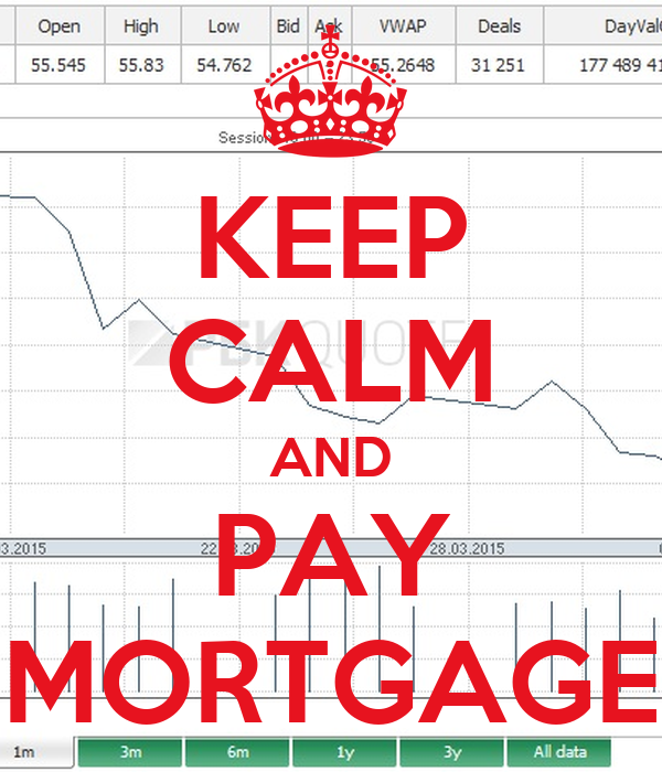 KEEP CALM AND PAY MORTGAGE