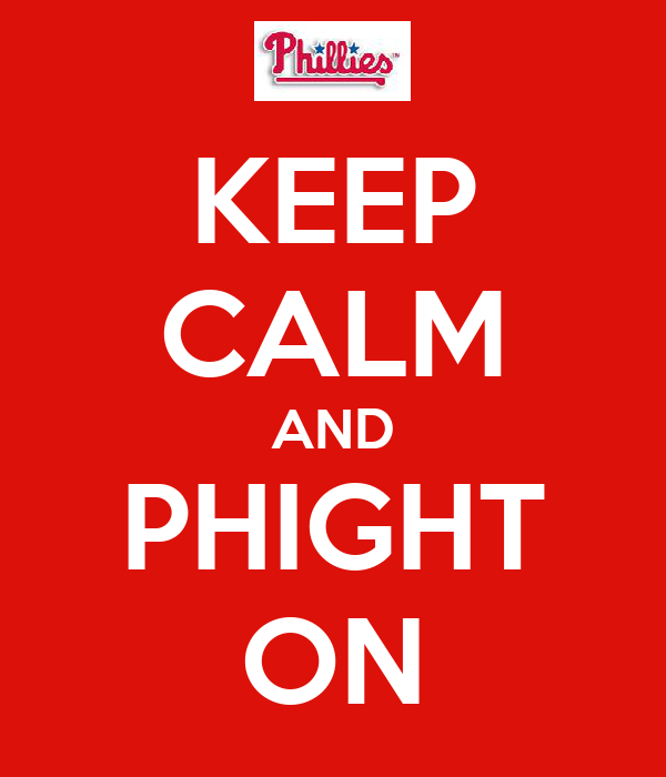 KEEP CALM AND PHIGHT ON