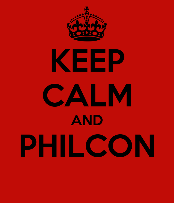 KEEP CALM AND PHILCON