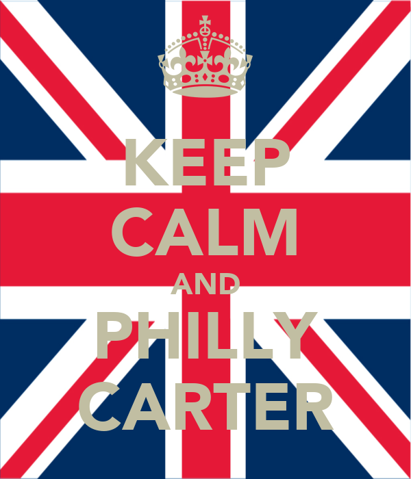 KEEP CALM AND PHILLY CARTER