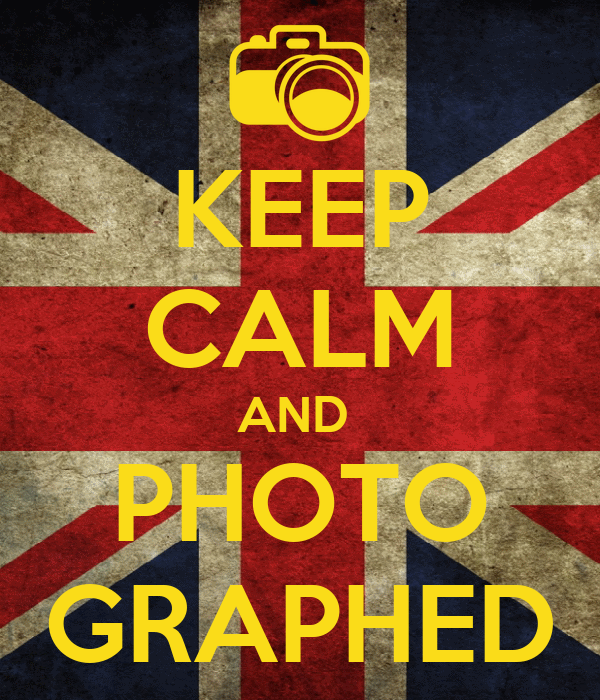 KEEP CALM AND  PHOTO GRAPHED