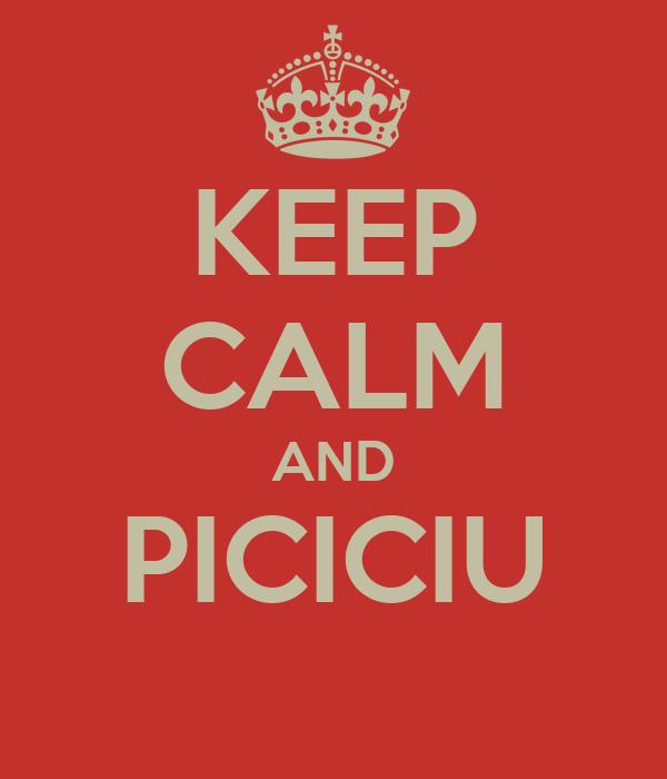 KEEP CALM AND PICICIU