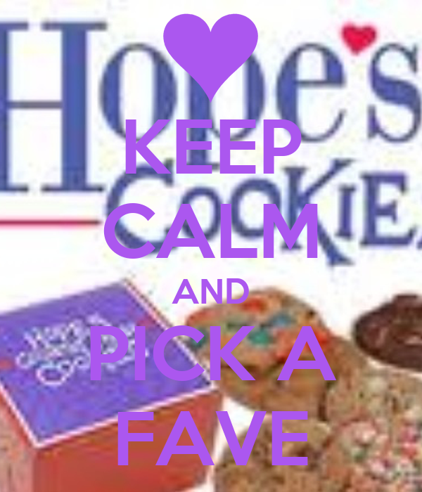 KEEP CALM AND PICK A FAVE
