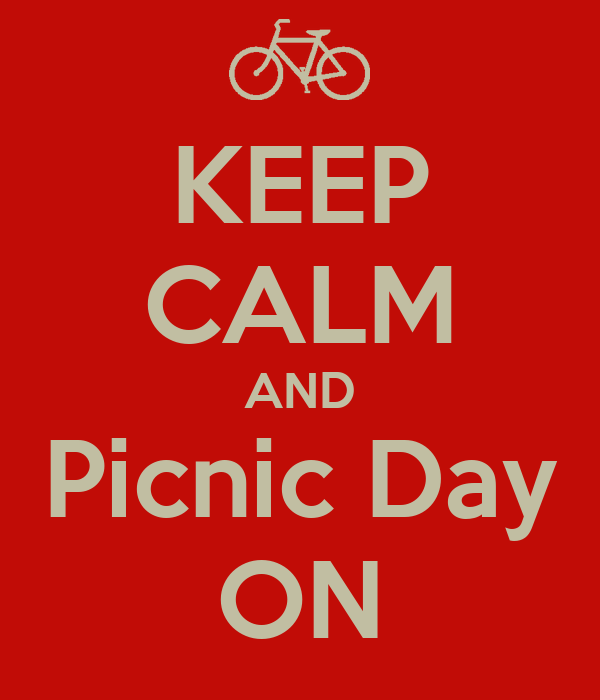 KEEP CALM AND Picnic Day ON