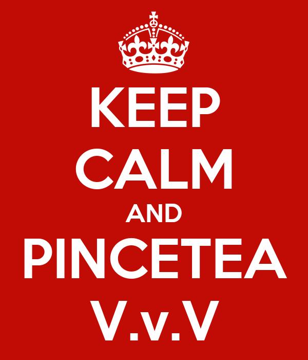 KEEP CALM AND PINCETEA V.v.V