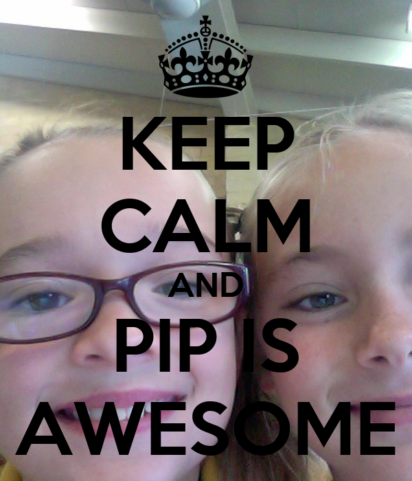 KEEP CALM AND PIP IS AWESOME