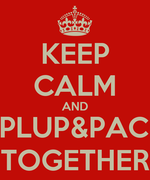 KEEP CALM AND PIPLUP&PACHI TOGETHER
