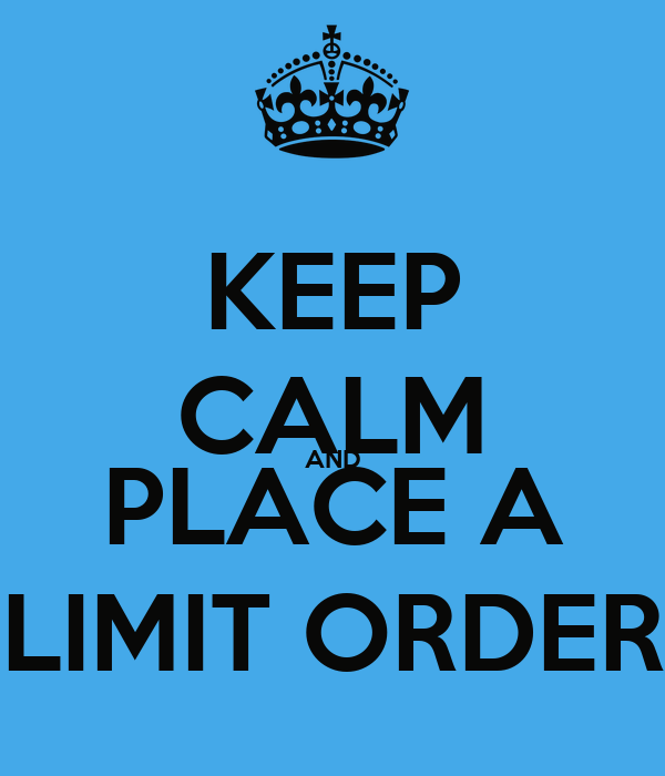 how to place a stop limit order