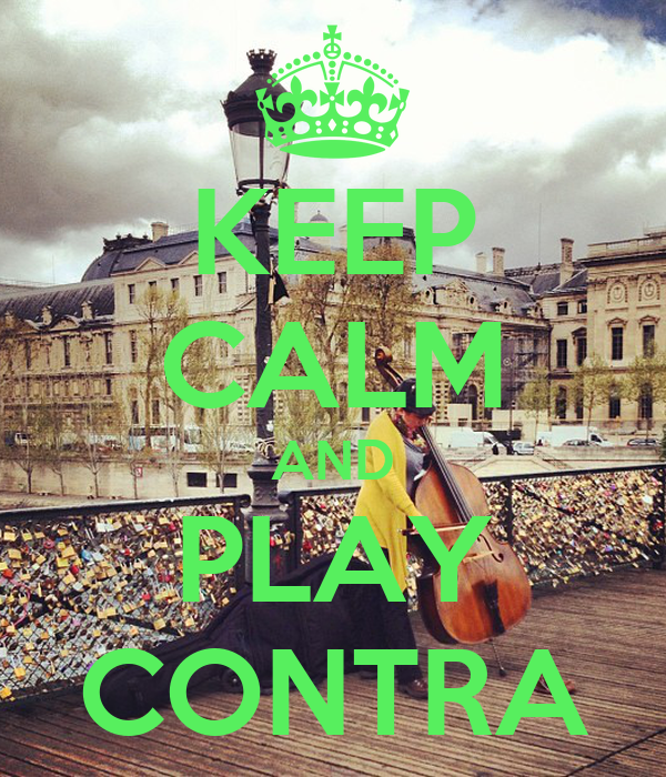 KEEP CALM AND PLAY CONTRA