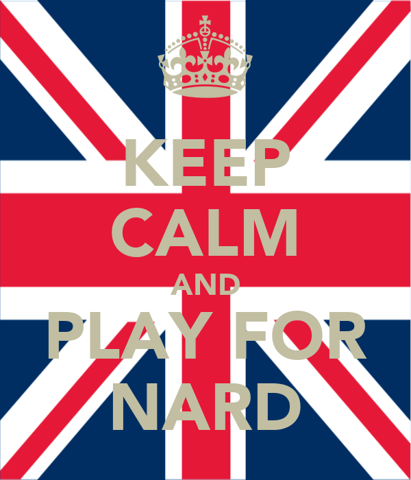 KEEP CALM AND PLAY FOR NARD