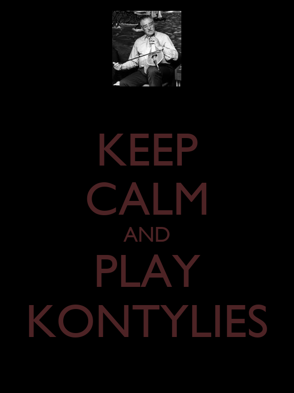 KEEP CALM AND PLAY KONTYLIES