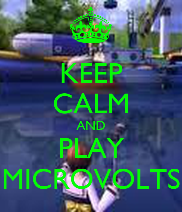 KEEP CALM AND PLAY MICROVOLTS