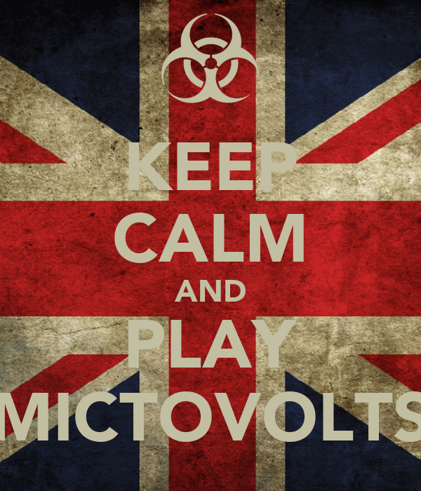 KEEP CALM AND PLAY MICTOVOLTS