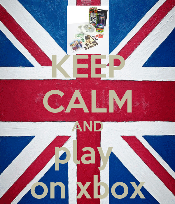 KEEP CALM AND play  on xbox