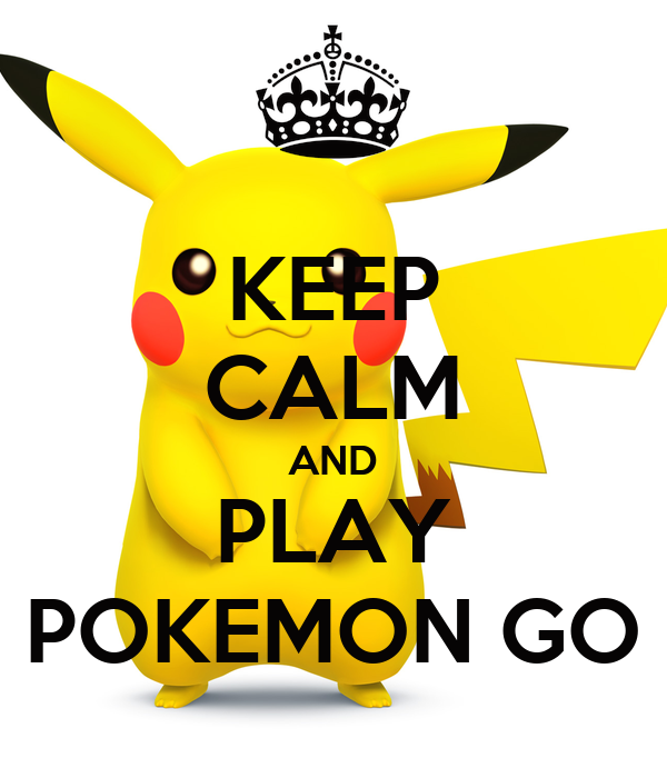 keep calm and play pokemon go poster abbas keep calm o matic. Black Bedroom Furniture Sets. Home Design Ideas