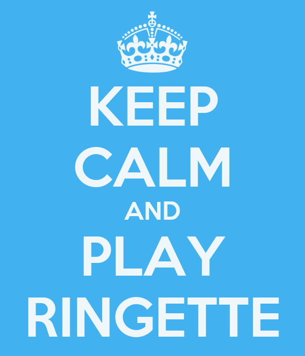KEEP CALM AND PLAY RINGETTE