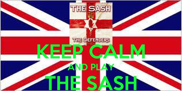 KEEP CALM AND PLAY THE SASH