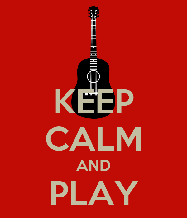 KEEP CALM AND PLAY WONDERWALL
