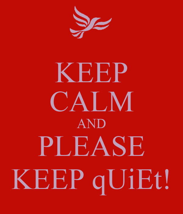 how to keep quiet alive