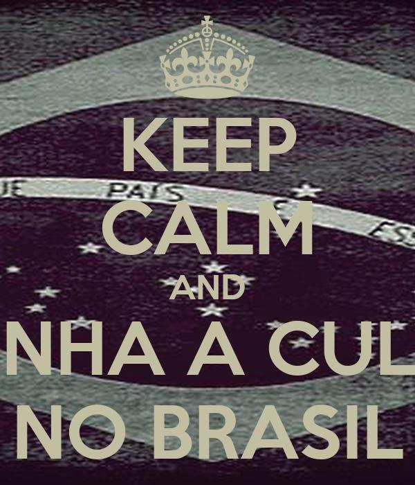 KEEP CALM AND PONHA A CULPA NO BRASIL