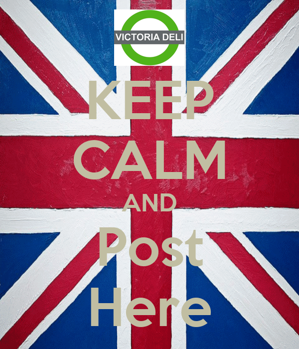 KEEP CALM AND Post Here