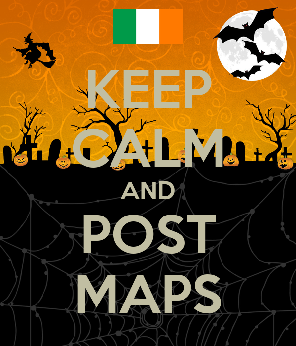 KEEP CALM AND POST MAPS