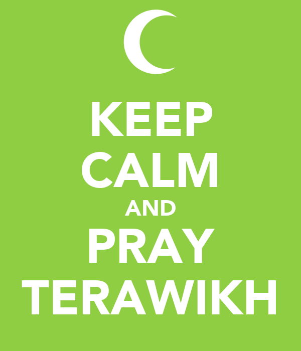 KEEP CALM AND PRAY TERAWIKH