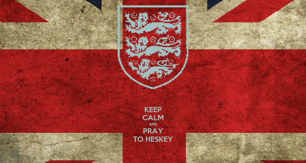 KEEP CALM AND PRAY TO HESKEY