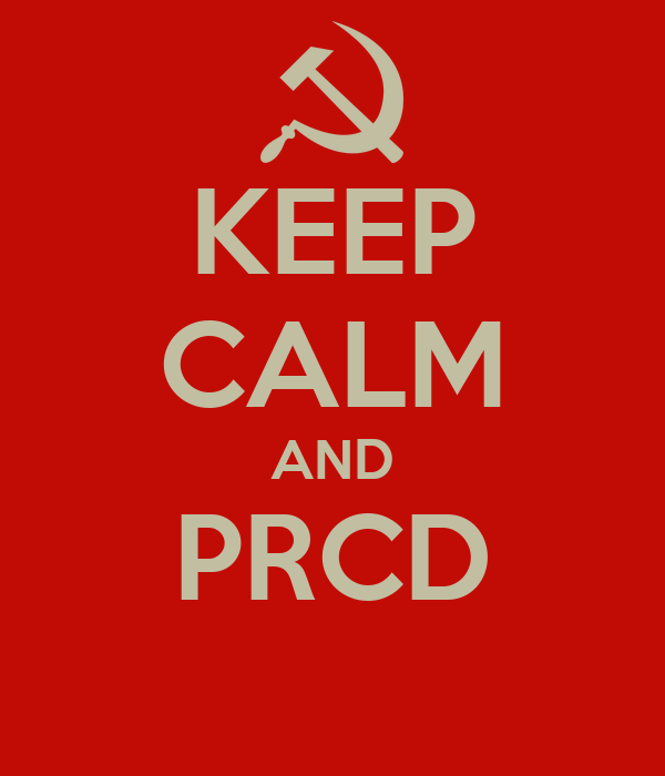 KEEP CALM AND PRCD
