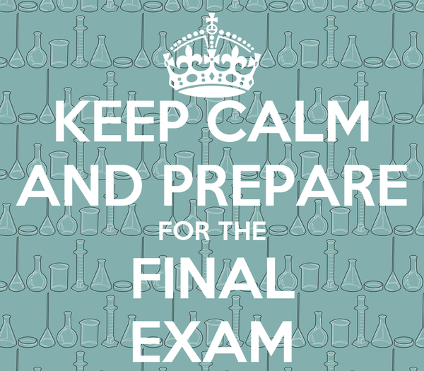 how to study and prepare for final exams