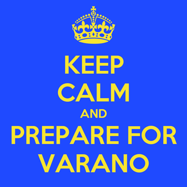 KEEP CALM AND PREPARE FOR VARANO