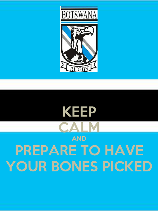 KEEP CALM AND PREPARE TO HAVE YOUR BONES PICKED