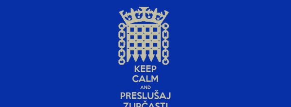 KEEP CALM AND PRESLUŠAJ ZUPČASTI