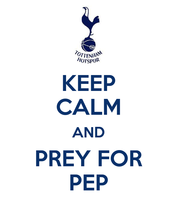 KEEP CALM AND PREY FOR PEP