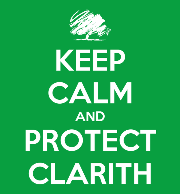 KEEP CALM AND PROTECT CLARITH