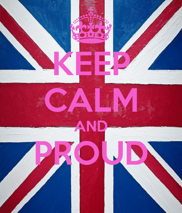 KEEP CALM AND PROUD