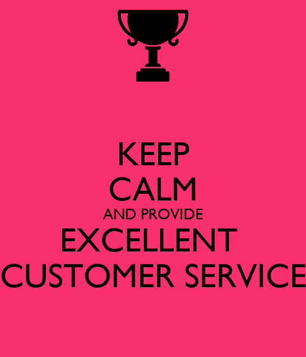 how to give excellent customer service