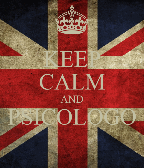 KEEP CALM AND PSICOLOGO
