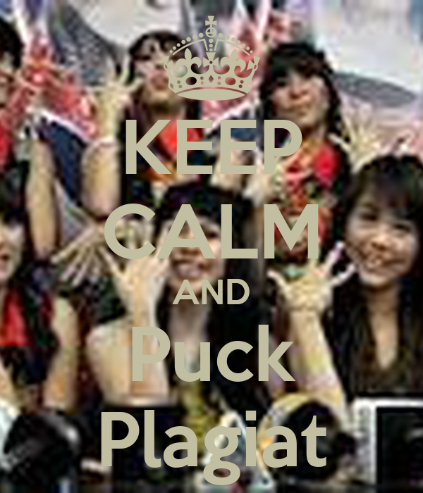 KEEP CALM AND Puck Plagiat