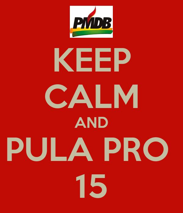 KEEP CALM AND PULA PRO  15
