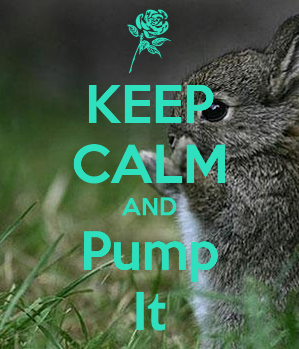 KEEP CALM AND Pump It