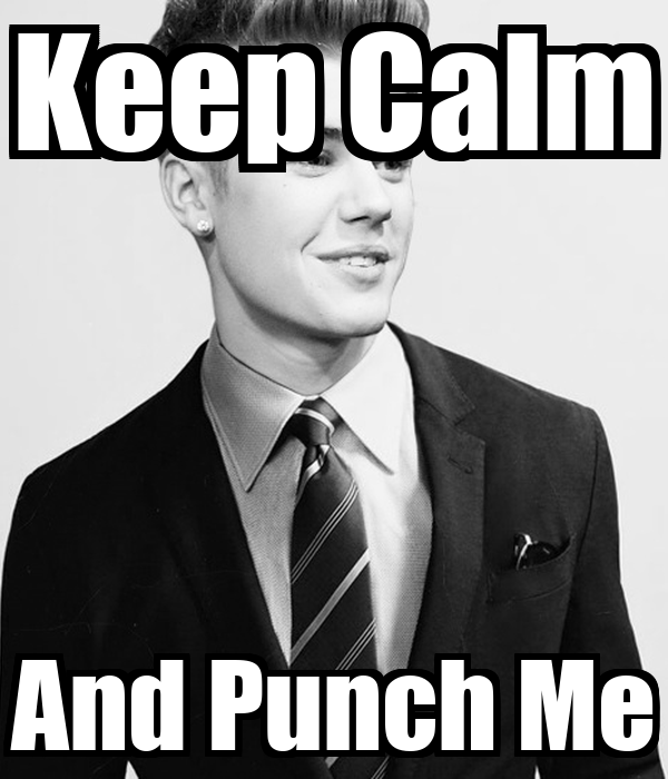 Keep Calm And Punch Me