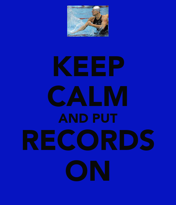 KEEP CALM AND PUT RECORDS ON