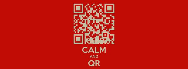 KEEP CALM AND QR CODE
